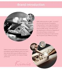 <b>KIMIO</b> Shine Dial <b>Women</b> Watches Rose Gold Bracelet Watch ...