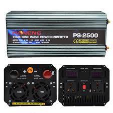 <b>Peak Power 5000W</b> Modified Sine Wave Power Car <b>Inverter</b> 12V ...