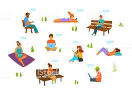Sitting <b>Human</b> Free Vector Art - (380 Free Downloads)