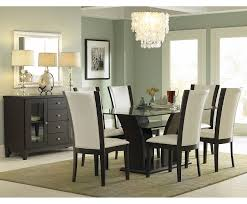 simple glass top dining tables  dining room stylish attachment glass dining room table sets teetotal