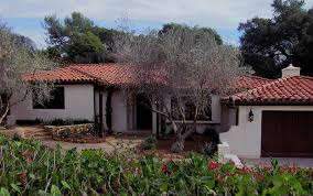 Home and landscape concepts  designs  drawings and photos for    quality small spanish homes in montecito photo