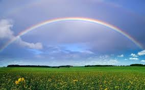 Image result for rainbow and clouds