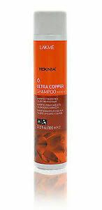 <b>Lakme Teknia Ultra Copper</b> Shampoo 300ml for sale online | eBay
