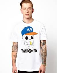 Футболка с черепом в кепке <b>Trainerspotter</b> Купить в интернет ...