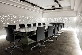 office meeting room design inspiration with beautiful white rhombus wall lighting decorating also elegant black meeting beautiful inspiration office furniture