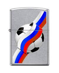 <b>207 RUSSIAN SOCCER зажигалка ZIPPO</b> Российский футбол с ...