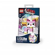 Игрушка лего <b>Брелок</b>-<b>фонарик</b> для ключей <b>Lego Movie</b> Unikitty ...