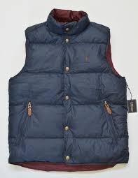 NWT Polo Ralph Lauren <b>Mens</b> Pony Reversible Puffer <b>Down</b> Jacket ...