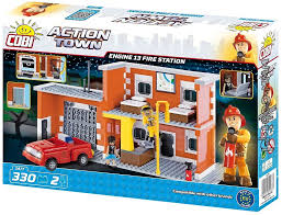 <b>Engine 13</b> Fire <b>Station</b>. COBI 1477. - <b>Конструкторы COBI</b>