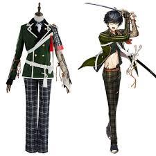 Gou <b>Touken Ranbu Kotegiri</b> Outfit Uniform Cosplay Costume ...