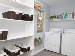 straight wall shelf and mounted storage in white added to complete grey and white laundry room algot white wall mounted storage