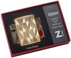 29671 <b>Зажигалка Zippo</b> Luxury Diamond, Armor <b>Gold</b> Plate