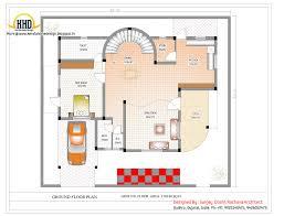 Duplex House Plan and Elevation   Sq  Ft    home applianceDuplex Ground Floor Plan Online   Sq M   Sq  Ft