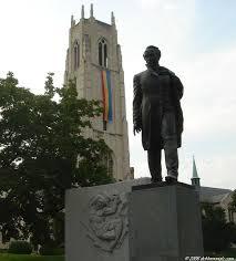 SHEVCHENKO, Taras: Memorial west of Dupont Circle in ...