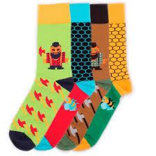 Купить набор <b>носков Burning heels</b> Bees <b>Lumberjack</b> ...