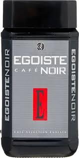 <b>Кофе растворимый Egoiste</b> Noir, 100 г — купить в интернет ...