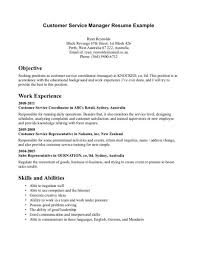 call center resume example sample resume example receptionist resume example Customer Service Experience Example Professional Customer     Infovia net