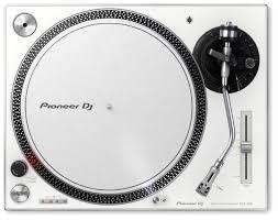 Купить <b>Виниловый проигрыватель</b> Pioneer <b>DJ</b> PLX-500 белый по ...
