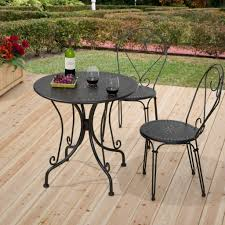 image size s m l f black wrought iron patio