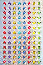 <b>12mm</b> mini <b>sparkly</b> smiley stars: 4 sheets, 416 reward stickers ...