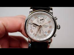 <b>Montblanc Star</b> Chronograph GMT Men's Watch Review Model: 36967