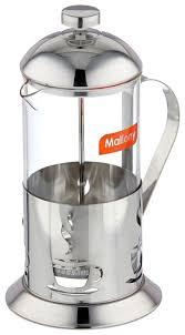 Купить <b>Френч</b>-<b>пресс</b> Mallony Alito 950152 (1 <b>л</b>) серебристый по ...