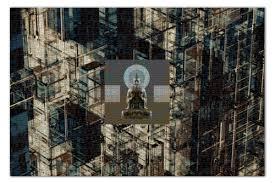 <b>Пазл 73.5</b>×<b>48.8 см</b> (1000 элементов) Дзен-<b>пазл</b> Рекурсия Будды ...