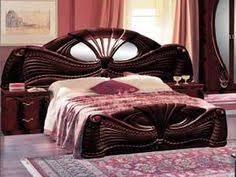 ben company pamela mahogany finish italian bed with bedside italianfurnitureuk italianbedroom buy italian furniture online