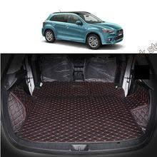 <b>lsrtw2017 fiber leather car</b> trunk mat for mitsubishi asx Outlander ...