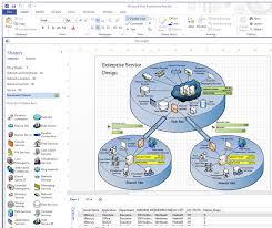 microsoft visio network diagramming software reviewvisio screenshot of network diagram