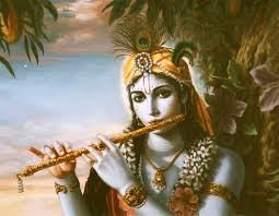 Image result for flute with krishna