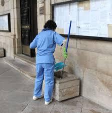 Resultado de imagen de limpiadora despido