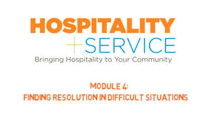 hospitality service module 4 finding resolution in difficult hospitality service module 4 finding resolution in difficult situations
