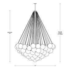 apparatus cloud 73 xl pendant lighting 12771 apparatus lighting