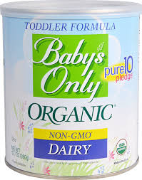 Nature's One <b>Baby's Only Organic</b> Dairy Toddler Formula -- 12.7 oz ...