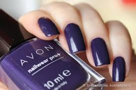 Лак для <b>ногтей</b> Avon Эксперт цвета Nailwear Рro+ оттенок Синяя ...