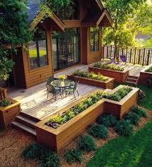 Small Picture garden ideas Beautiful Raised Bed Garden Designs Beautiful