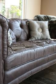 the painted sofa reloved rubbish painting leather can you paint leather furniture