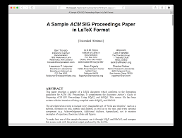pubcss formatting academic publications in html css thomas park web paper
