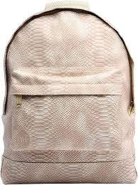 <b>Рюкзак Mi-Pac Premium</b> Python Бежевый - Красный, цена 5 260 ...