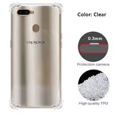 Oppo A3s /A5 / A7 / A83 / K1 <b>Clear Transparent ShockProof AirBag</b> ...