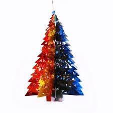 КАНЦ <b>Новогодняя гирлянда</b> '<b>Елочка</b> цветная ажурная 2' (36*12.5 ...