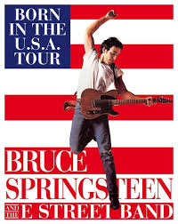 "Image result for 1984 - Bruce Springsteen released his ""Born in the U.S.A."" album."