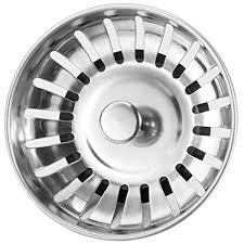 Anpro <b>Stainless Steel Kitchen</b> Sink Strainer Plug 78mm: Amazon.co ...