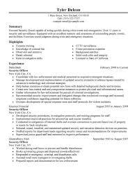 resume security guard resume security guard resume full size