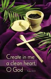 Image result for images: Ash Wednesday