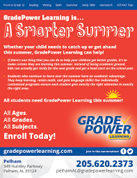 tutor pelham gradepower learning the path to success is your commitment and gradepower learning to guide you if you ll provide the first we ll provide the second let s get started