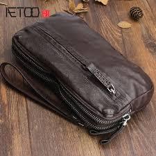 <b>AETOO Original hand made retro</b> leather handbag first layer of ...