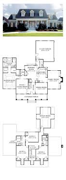 ideas about Farmhouse Floor Plans on Pinterest   Floor Plans    Colonial House Plan   Total Living Area  sq  ft