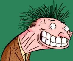 Image result for caricature of a wacky guy